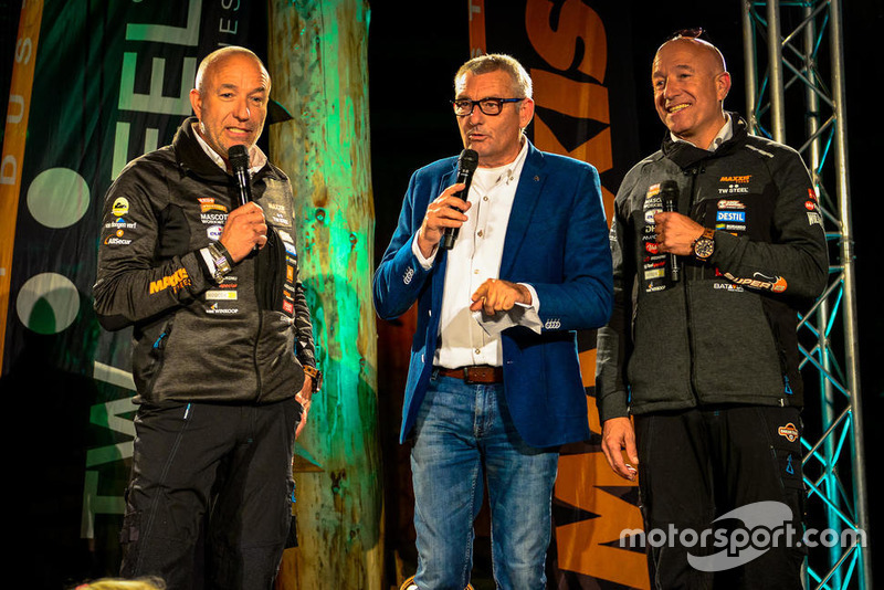 Allard Kalff, Tim en Tom Coronel, Jefferies Dakar Buggy 2