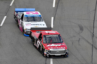 Kyle Benjamin, DGR-Crosley, Toyota Tundra CROSLEY BRANDS / DGR CROSLEY, Johnny Sauter, GMS Racing, Chevrolet Silverado ISM Connect