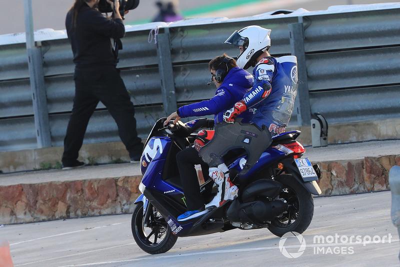 Jonas Folger, Yamaha Factory Racing after crash