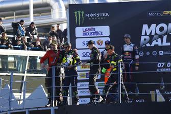 Podium: 1. Valentino Rossi, Carlo Cassina, 2. Teemu Suninen, Marko Salminen, 3. Roberto Brivio, Luca Brivio