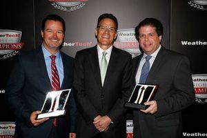 Jochen Etzel, Travis Roffler, John DeSalle of Continental Tire