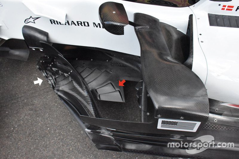 Fond plat de la Haas F1 Team VF-18