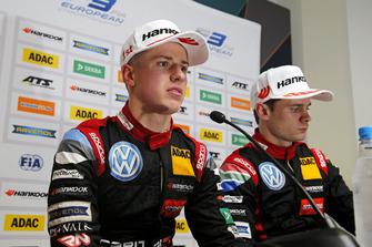 Press conference, Jüri Vips, Motopark Dallara F317 - Volkswagen