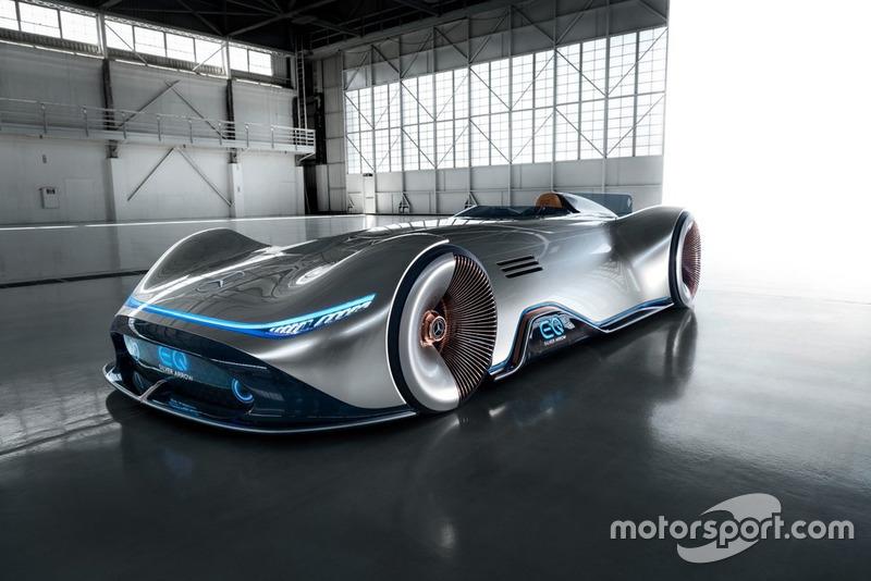 Mercedes EQ Silver Arrow unveil