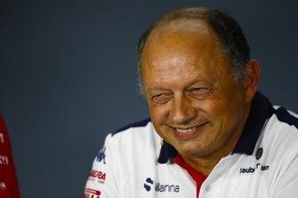 Frederic Vasseur, Sauber, Team Principal, in the Team Principals' Press Conference