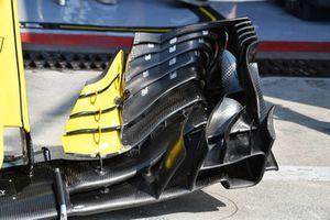 Aileron avant de la Renault Sport F1 Team RS 18