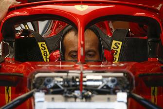 Mecánico de Ferrari en Ferrari SF-71H