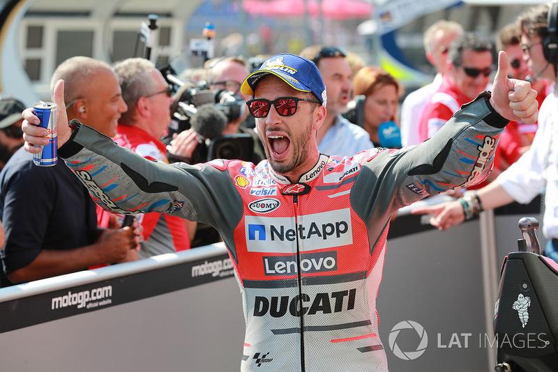 Poleman Andrea Dovizioso, Ducati Team