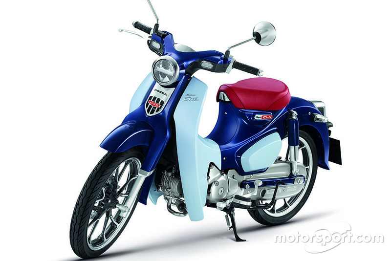 Honda Super Cub C125-Pearl Niltava Blue