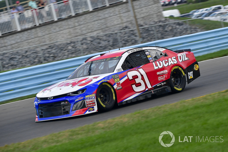 19. Ryan Newman, Richard Childress Racing, Chevrolet Camaro Lucas Oil
