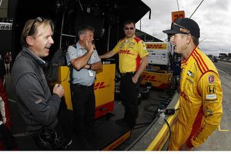 Ryan Hunter-Reay, Andretti Autosport Honda, mit Eric Bretzman