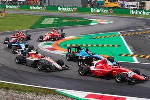 Joey Mawson, Arden International, Leonardo Pulcini, Campos Racing, Tatiana Calderon, Jenzer Motorsport
