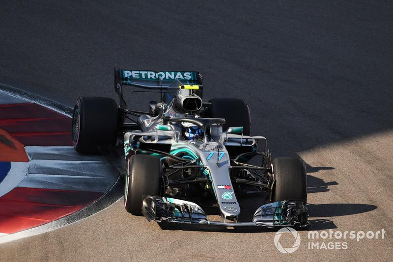 1: Valtteri Bottas, Mercedes AMG F1 W09, 1'31.387