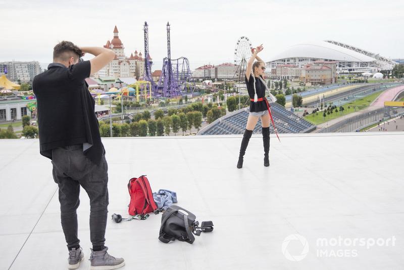 Модель и блогер Ангела Николау и блогер Иван Кузнецов