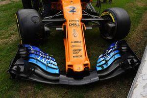 Авария: Стоффель Вандорн, McLaren MCL33