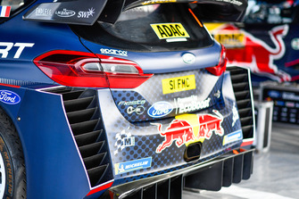 M-Sport Ford Fiesta rear detail