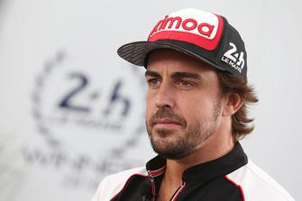 #8 Toyota Gazoo Racing Toyota TS050: Fernando Alonso