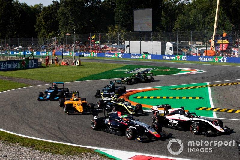 Partenza di gara 1 a Monza