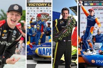 Los aspirantes al título de IndyCar 2019