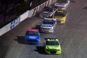 Matt Crafton, ThorSport Racing, Ford F-150 Ideal Door/Menards and Stewart Friesen, Halmar Friesen Racing, Chevrolet Silverado Halmar International