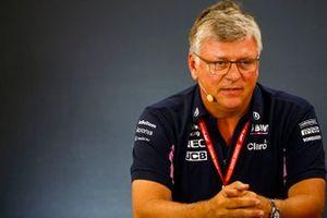 Otmar Szafnauer, Team Principal et PDG, Racing Point, lors de la conférence de presse