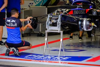 Toro Rosso STR14 van Pierre Gasly