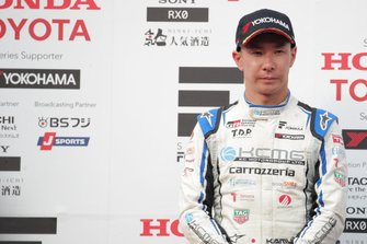Podium: second place Kamui Kobayashi, KCMG
