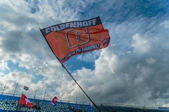 Vlag van supporters Glenn Coldenhoff