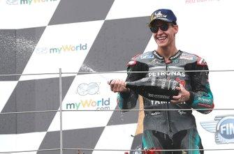 Podium: third place: Fabio Quartararo, Petronas Yamaha SRT