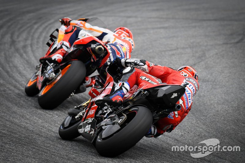 Andrea Dovizioso, Ducati Team, Marc Marquez, Repsol Honda Team, Fabio Quartararo