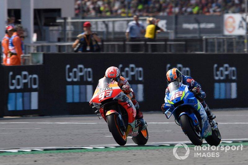 Marc Márquez, Repsol Honda Team, Alex Rins, Team Suzuki MotoGP