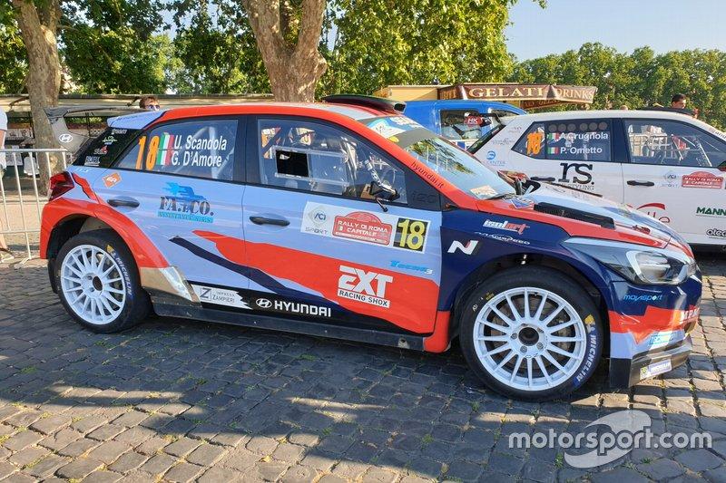 Umberto Scandola, Guido D'Amore, Hyundai i20 R5, Movisport