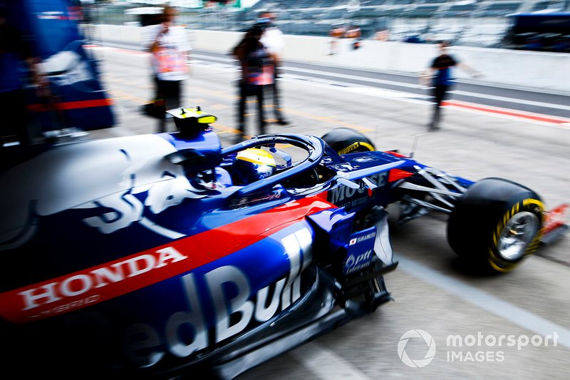 Naoki Yamamoto, Toro Rosso STR14, quitte le garage