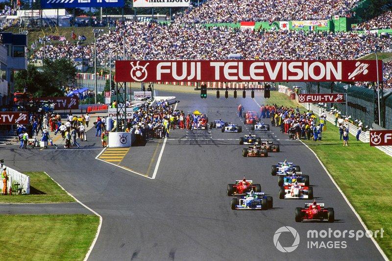 Michael Schumacher, Ferrari, David Coulthard, McLaren