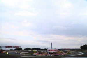 Renn-Action auf dem Fuji Speedway