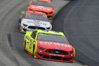 Paul Menard, Wood Brothers Racing, Ford Mustang Menards / Cardell Cabinets, Brad Keselowski, Team Penske, Ford Mustang Wurth