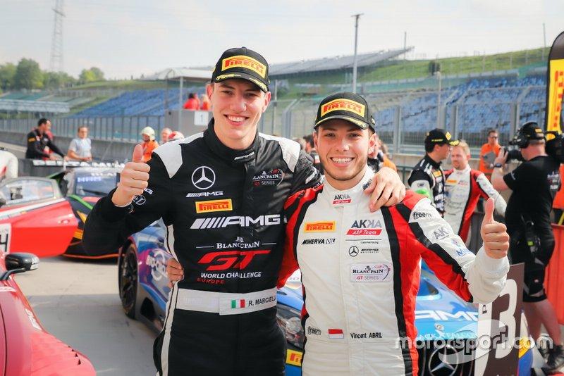Winner #88 Akka ASP Team Mercedes-AMG GT3: Vincent Abril, Raffaele Marciello
