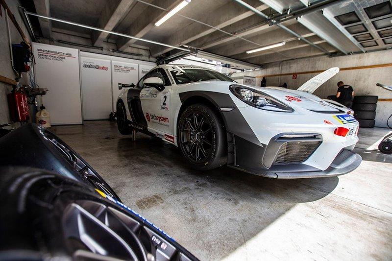 Javin Seyhan, Porsche 718 Cayman GT4 Clubsport