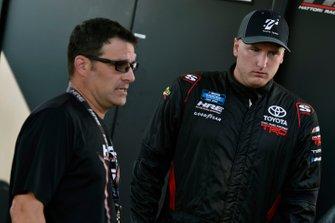 Austin Hill, Hattori Racing Enterprises, Toyota Tundra Toyota Tsusho and Scott Zipadelli