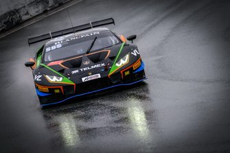 #555 Orange 1 FFF Racing Team Lamborghini Huracan GT3 Evo: Taylor Proto, Diego Menchaca