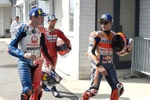 Jack Miller, Pramac Racing, Andrea Dovizioso, Ducati Team, Marc Marquez, Repsol Honda Team