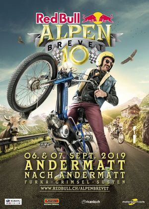 Red Bull Alpenbrevet, plakat 2019