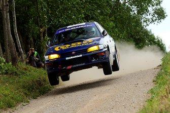 Michał Pryczek, Jacek Pryczek, Subaru Impreza, FIA ERC, Rally Poland