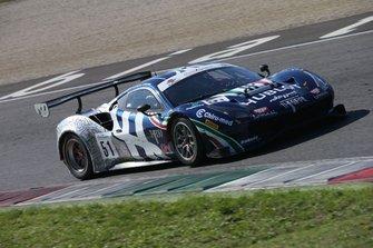 #51 Ferrari 488 GT3 PRO-AM, AF Corse: Mann-Cressoni