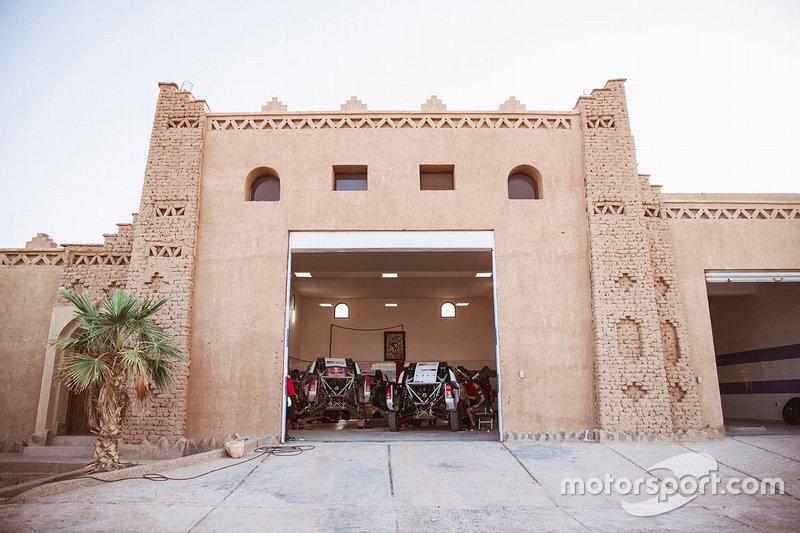 Zona del equipo de Toyota Gazoo Racing