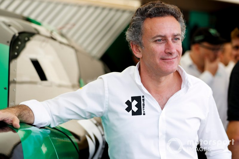 Alejandro Agag al Global Launch di Extreme E