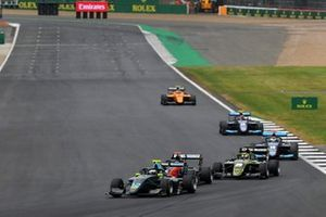 Keyvan Andres, HWA RACELAB, Simo Laaksonen, MP Motorsport, Teppei Natori, Carlin Buzz Racing and Andreas Estner, Jenzer Motorsport