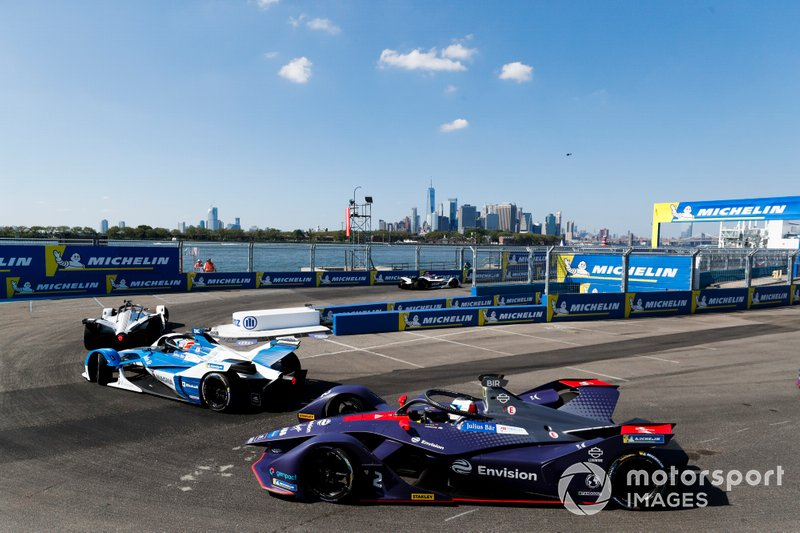 Antonio Felix da Costa, BMW I Andretti Motorsports, BMW iFE.18, Sam Bird, Envision Virgin Racing, Audi e-tron FE05