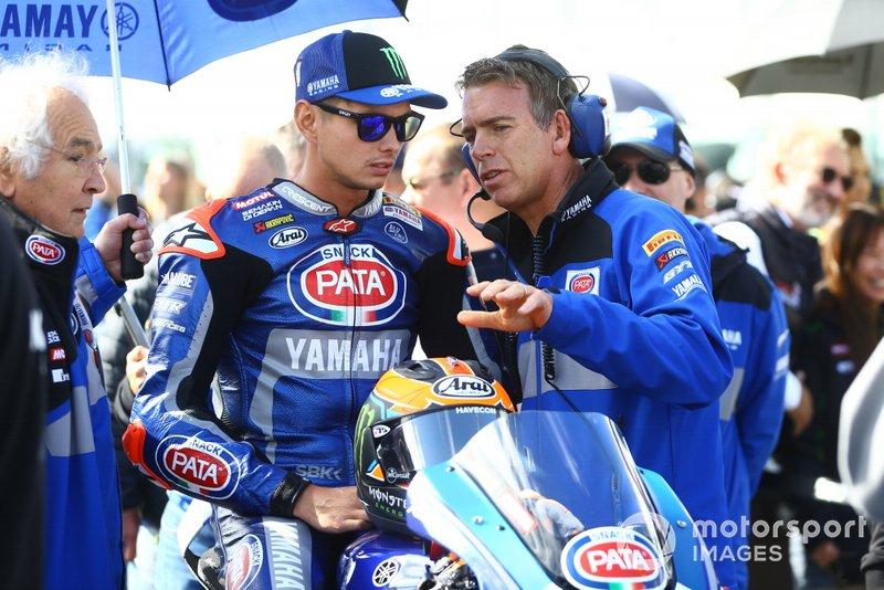 Michael van der Mark, Pata Yamaha, Paul Denning