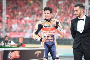 World Champion Marc Marquez, Repsol Honda Team celebration